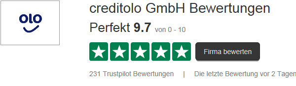 Creditolo Bewertungen Trustpilot